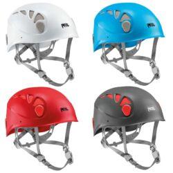 Petzl Elios mászósisakok négyféle színben, fehér, kék, szürke és piros | Mászás.hu