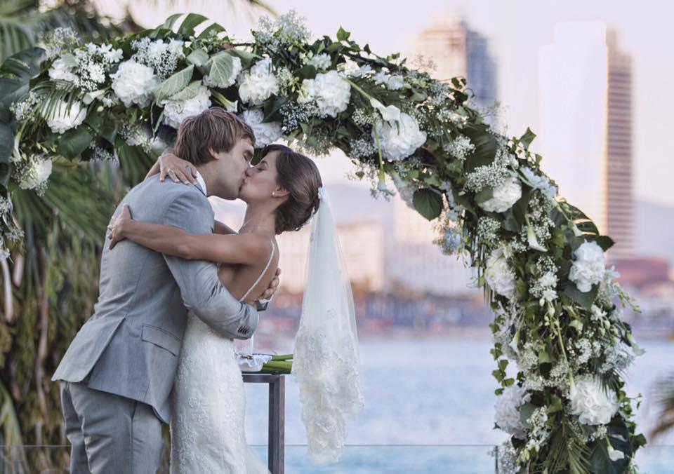 Chris Sharma megnősült - Csókolja meg a menyasszonyt